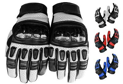 Waterproof Warm Winter Motorcycle Motorbike Gloves Knuckle Protection Riding