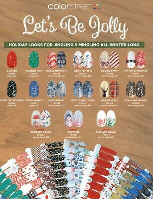 Color Street Nail Strips Buy 3 Get 1 FREE SHIPPING Halloween Fall Christmas NEW!