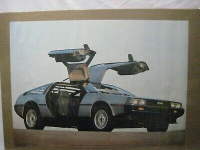 De Lorean Dmc Vintage Poster Bar Garage Man Cave 1983 Car Cng1015