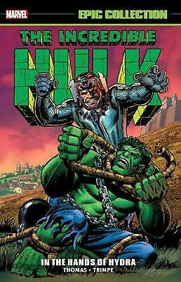 Incredible Hulk Epic Collection: In The Hands Of Hydra by Stan Lee Paperback Boo