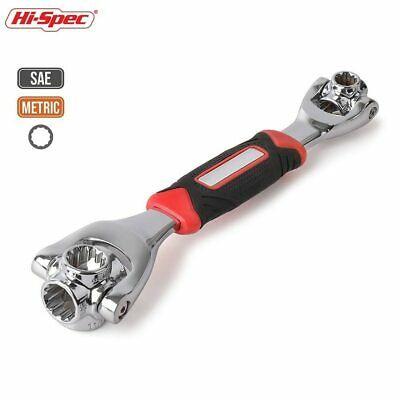 48-in-1 Universal Wrench Multi-Function Socket Wrench Adjustable 360° Tool