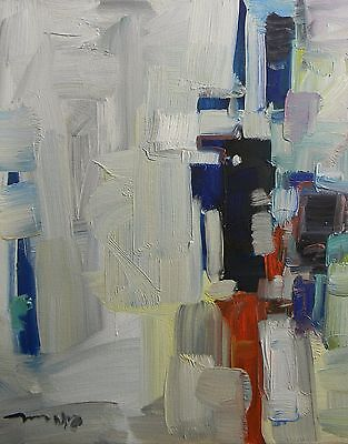 JOSE TRUJILLO Oil Painting ABSTRACT Expressionism ORIGINAL MODERN Gallery Canvas