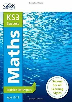 (Good)-Maths: Practice Test Papers (Letts Key Stage 3 Revision) (Letts KS3 Revis