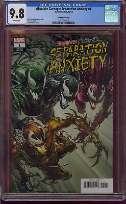 Absolute Carnage Separation Anxiety #1 Cgc 9.8  Crain Variant  2019  Comic Kings