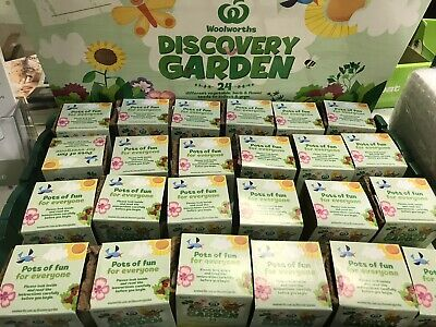 woolworths discovery little garden full set without case
