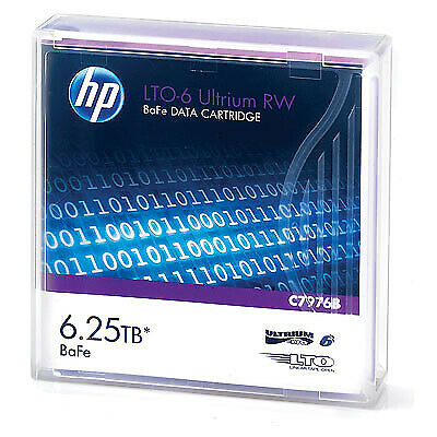Hewlett Packard Enterprise LTO-6 Ultrium RW 1.27 cm