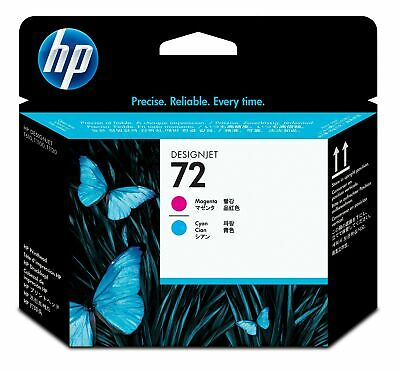 New Genuine HP 72 Magenta and Cyan DesignJet Printhead
