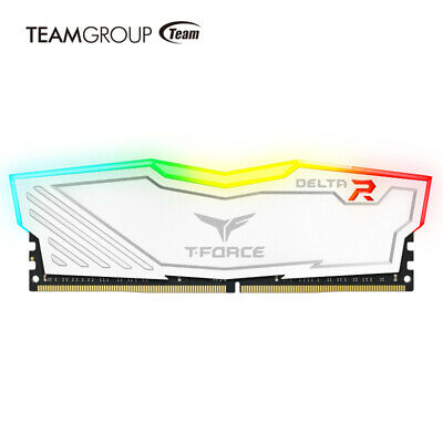 Team Group T-Force Delta RGB 3200MHz 16GB (2x8GB) DDR4 White