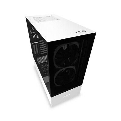 NZXT Matte Black H510 Elite Mid Tower Chassis (Smart Device)