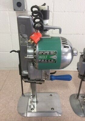 Wolf Pacer 2-speed Stack Cutter Fabric Knife