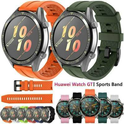 1PC Replacement Silicone Watch Band Wrist Strap For Huawei Watch GT Smart Watch
