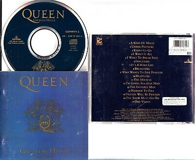 QUEEN -The Greatest Hits II (CD) The Best Of CD (MALAYSIA RARE/DISCO TV)