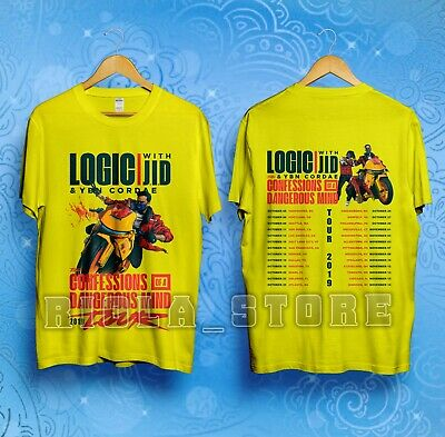 LOGIC With JID & YBN CORDAE The Confessions Of A Dangerous Mind Tour T Shirt