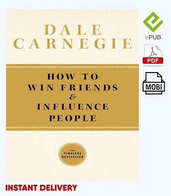 How To Win Friends and Influence People by Dale Carnegie 🔥📧(email delivery)🔥