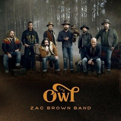 ZAC BROWN BAND The Owl CD NEW