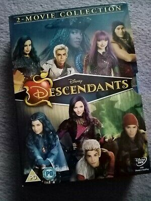 Rare Disney descendants dvd box set films one and two  new!