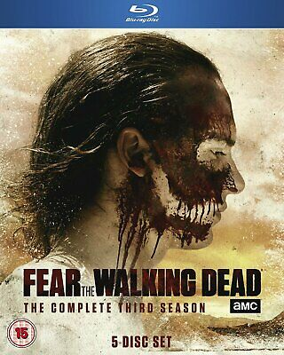 Fear the Walking Dead: The Complete Third Season [Blu-ray] mint condition uk
