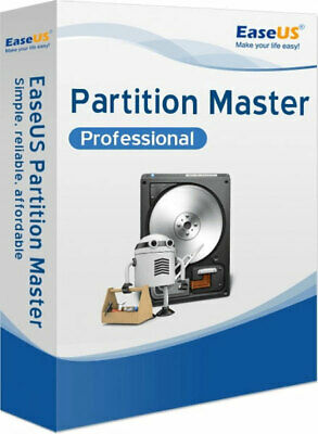 🔥EaseUS Partition Master PRO 13.5 full Lifetime Activated FULLY SATISFACTION🔥