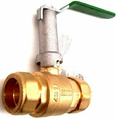 Hattersley Extended Stem Lever Operated PN16 Brass Ball Valve 28mm
