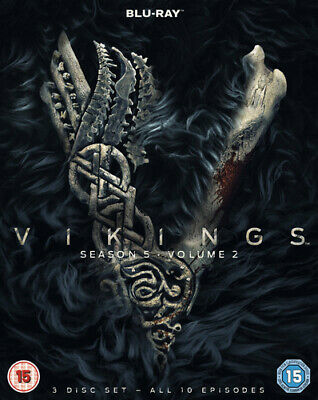 Vikings: Season 5 - Volume 2 Blu-ray (2019) Katheryn Winnick cert 15 3 discs