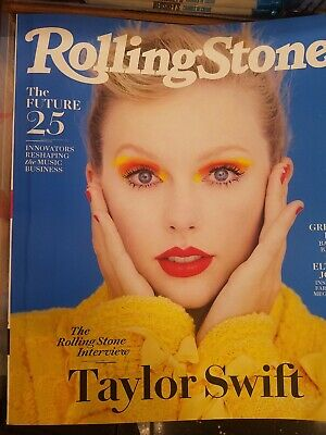 Taylor Swift Interview Green Day Elton Rolling Stone Grammy Preview October 2019