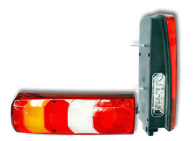 A0025447390 2x rear tail lights lens for ACTROS MP4 trucks OEM ref