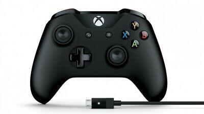 Microsoft Xbox One Wireless Controller + Cable for PC