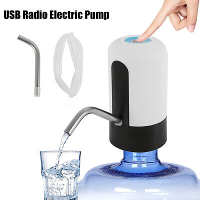 Electric Water Pump Dispenser Wireless Home Camping Automatic Drinking Spigot