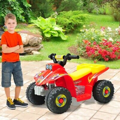 Kids Ride on Quad Bike Car Battery Electric Outdoor Toy Motorbike Dune buggy atv
