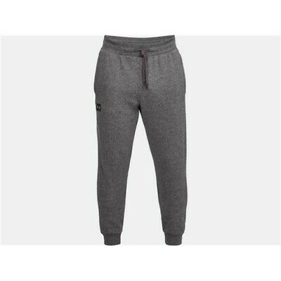 Under Armour 13207400202X Mens Rival Fleece Jogger Athletic Pants Charcoal 2X