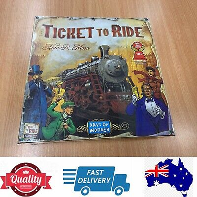 Ticket To Ride Board Game, American Edition, AU Stock