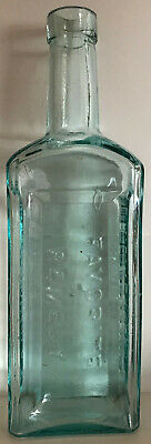 Dr. D. Kennedy's Favorite Remedy Kingston NY Hinge Mold Crude BIM Bottle PLUS AD