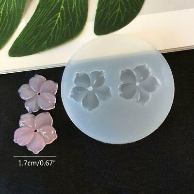 New Flower Silicone Molds Resin Camellia Peony Daisy Lotus Flower Jewelry Making