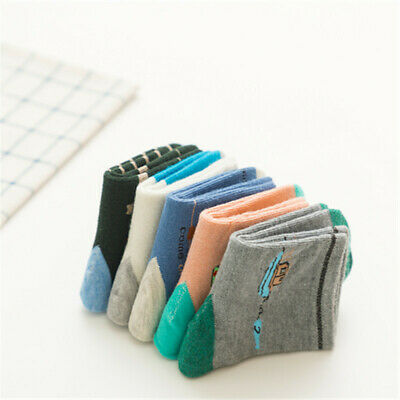 Kids Ankle Socks Everyday Casual Cotton Soft Comfy Sport Sock Fashion Chic Socks