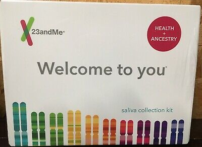 23andMe Personal Ancestry & Health Kit - Lab Fee Included . BRAND NEW