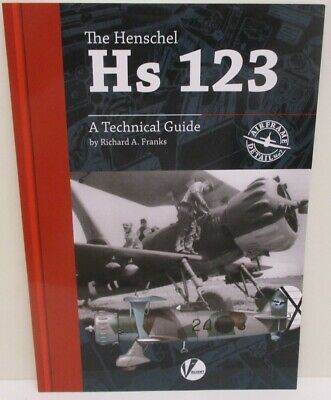 Valiant Wings Airframe Detail 7 - The Henschel Hs 123 - A Technical Guide   Book