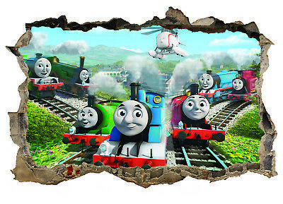 Thomas The Tank Engine,Sticker,Poster,A4,Decal,Kids,Wall Art,Mural