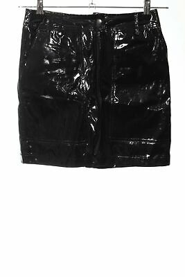 24COLOURS Minirock schwarz extravaganter Stil Damen Gr. DE 36 Rock Skirt