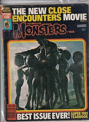 Famous Monsters Mag Close Encounters October 1980 092319nonr