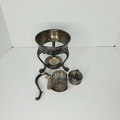 1883 Fb Rogers Silver Plated Coffee  With Stand