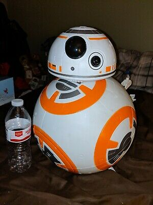 🔴 Star Wars Deluxe Bb-8 Jakks Pacific 18 Inch Big-Figs Lights And Sounds!