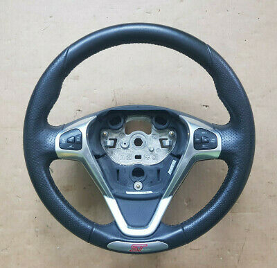 Ford Fiesta MK7 ST180 Multifunction Cruise Control Leather Steering Wheel