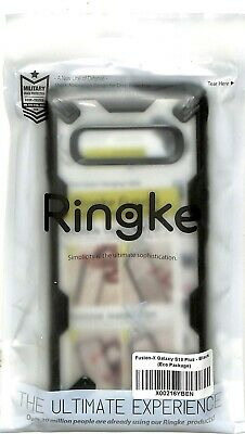 Ringke FusionX Case for Samsung Galaxy S10+ Hard Cover with soft grip LARGEPLUS