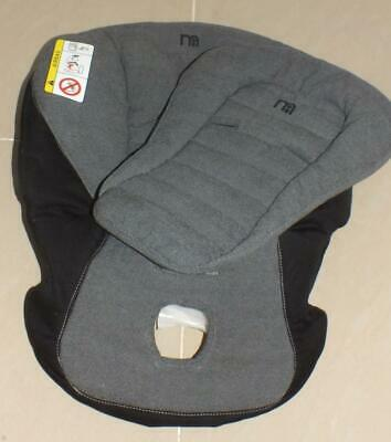 Mothercare Maine spare car seat cover & head pad - Black & white in colour