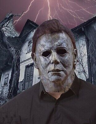 'NEW' Micheal Myers Halloween 2019 mask Adult size 100% Latex