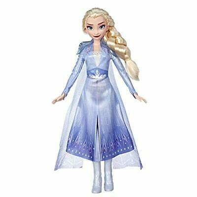 Disney Frozen 2 Elsa Fashion Doll With Long Blonde Hair and Blue Outfit Toy Gift