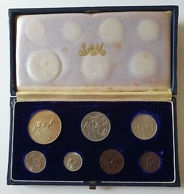 1966 South Africa Proof Set Including Silver Rand