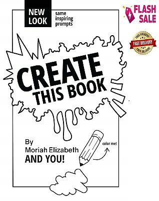 Create This Book by Moriah Elizabeth Paperback NEW Book