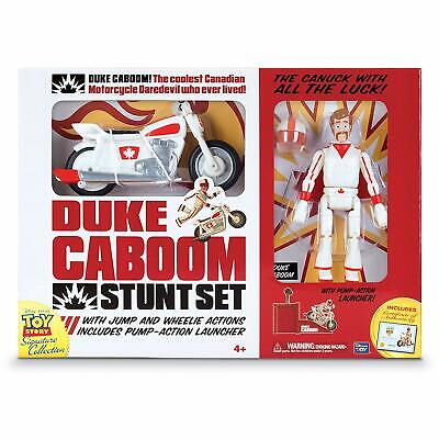 Signature Collection Disney Toy Story 4 Duke Caboom Stunt Set Movie Replica