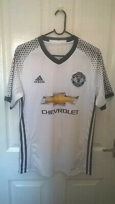 Manchester United 3Rd Shirt ~ 2016-17 ~ Small Vgc